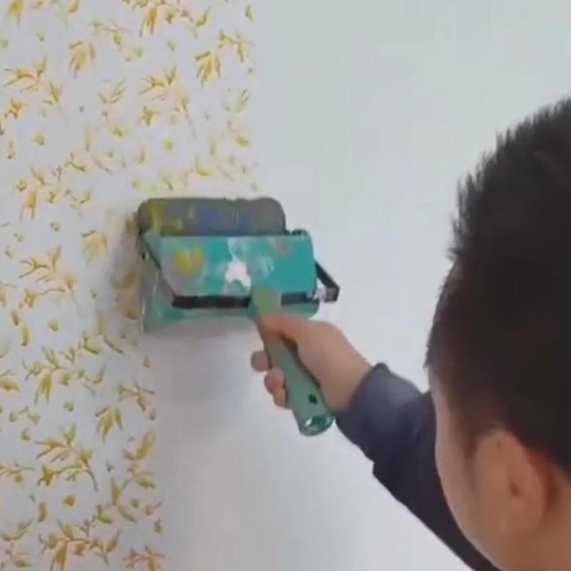 DIY Wall Painting Roller Embossed Household Use Wall Decorative Paint Roller  Wall Texture Stencil Brush