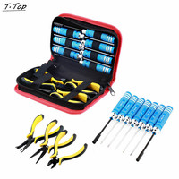 10 In 1 Tool Kit Screwdriver With Box Including Hex Screw For FPV Helicopter Drone RC