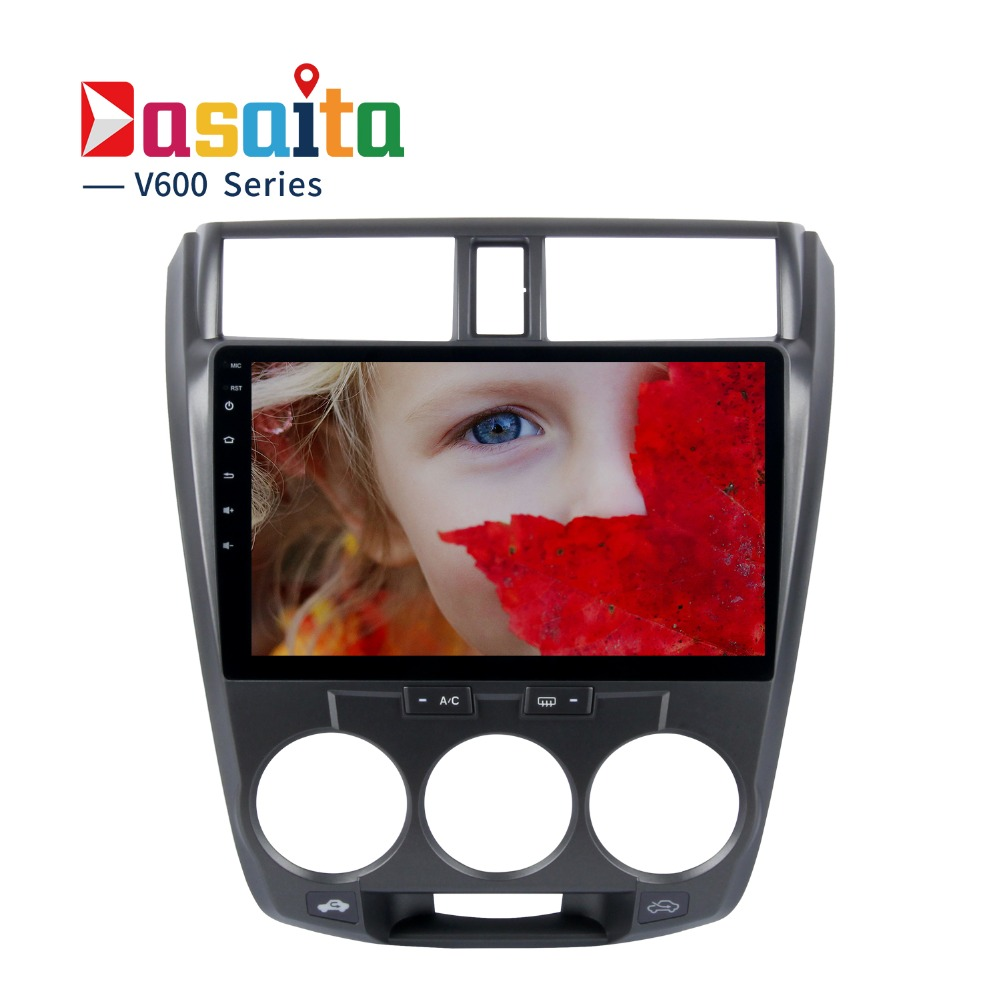 Dasaita 10.2 Android 6.0 Octa Core Car GPS for Honda City NO DVD Player Stereo Auto Radio Head Unit Multimedia NAVI 4G LTE sonny rollins sonny rollins a night at the village vanguard 180 gr