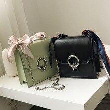 где купить Female Crossbody Tote Bag Women 2019 Quality PU Leather Luxury Handbags Designer Sac A Main Ladies Scarve Shoulder Messenger Bag по лучшей цене