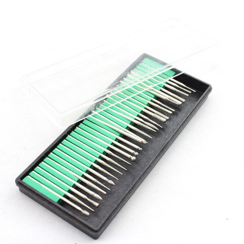 OPHIR 20 Вт Портативный Перезаряжаемый электрический сверлильный станок для ногтей Маникюрные наборы пилочка для ногтей сверла шлифовальная ... - 5