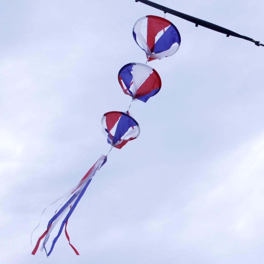 Nylon Kite Windsock Children Kids Outdoor Toy Sports Fun Wind Spinner Garden Backyards Decorative
