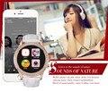 2017 más reciente primero lady diamond bluetooth smart watch cámara gprs g7 con frecuencia cardíaca podómetro smartwatch para suave de señora girls