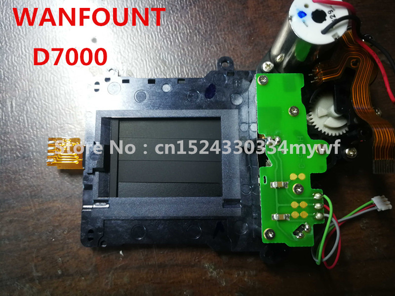 For Nikon D7000 D7100 D7200 Shutter Unit With Curtain Blade Motor Assembly Component Part Camera Repair Spare Part