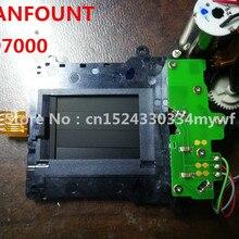 Для Nikon D7000 D7100 D7200 блок затвора с шторным лезвием двигателя в сборе деталь запасная часть камеры