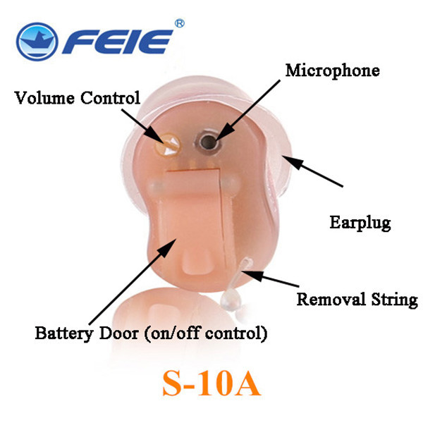 Mini Hearing Aids , instant fit CIC Digital Hearing Aid Sound Amplifier Medical Ear Care Hearing Aids Hearing Device Program
