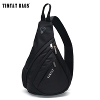 TINYAT Men Functional Cool Style Chest Bag Pack Morden Style Outside Large Capacity Messenger Bag T509