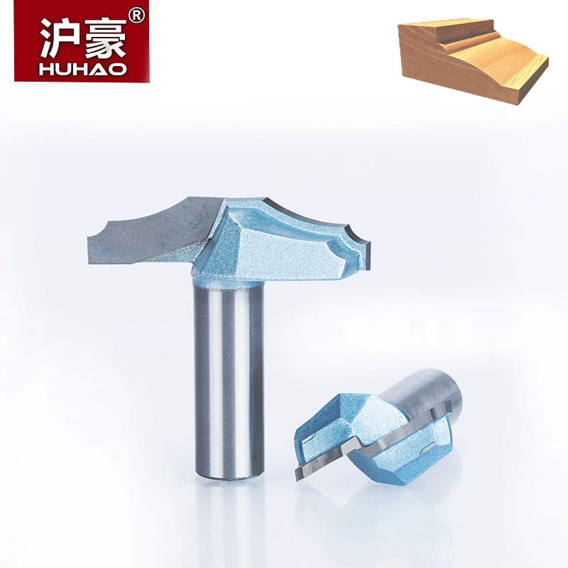 HUHAO 1pc 1/2 Shank Trimmer Router Bits For Wood Tungsten Carbide Woodworking Engraving Endmill Tools For Hard Wood MDF huhao 1pcs 1 2 1 4 shank classical router bits for wood tungsten carbide woodworking endmill tools classical mounlding bit
