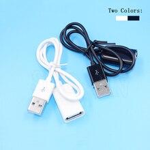 Удлинительный Кабель USB 2,0 в комплект поставки входит адаптер 50 см& 100 см мужского и женского пола Дата-кабель, шнур синхронизации шнур провод для портативных ПК компьютер-25