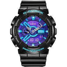 Casio watch Earthquake anti-magnetic waterproof sports men's watch GA-110HC-1A