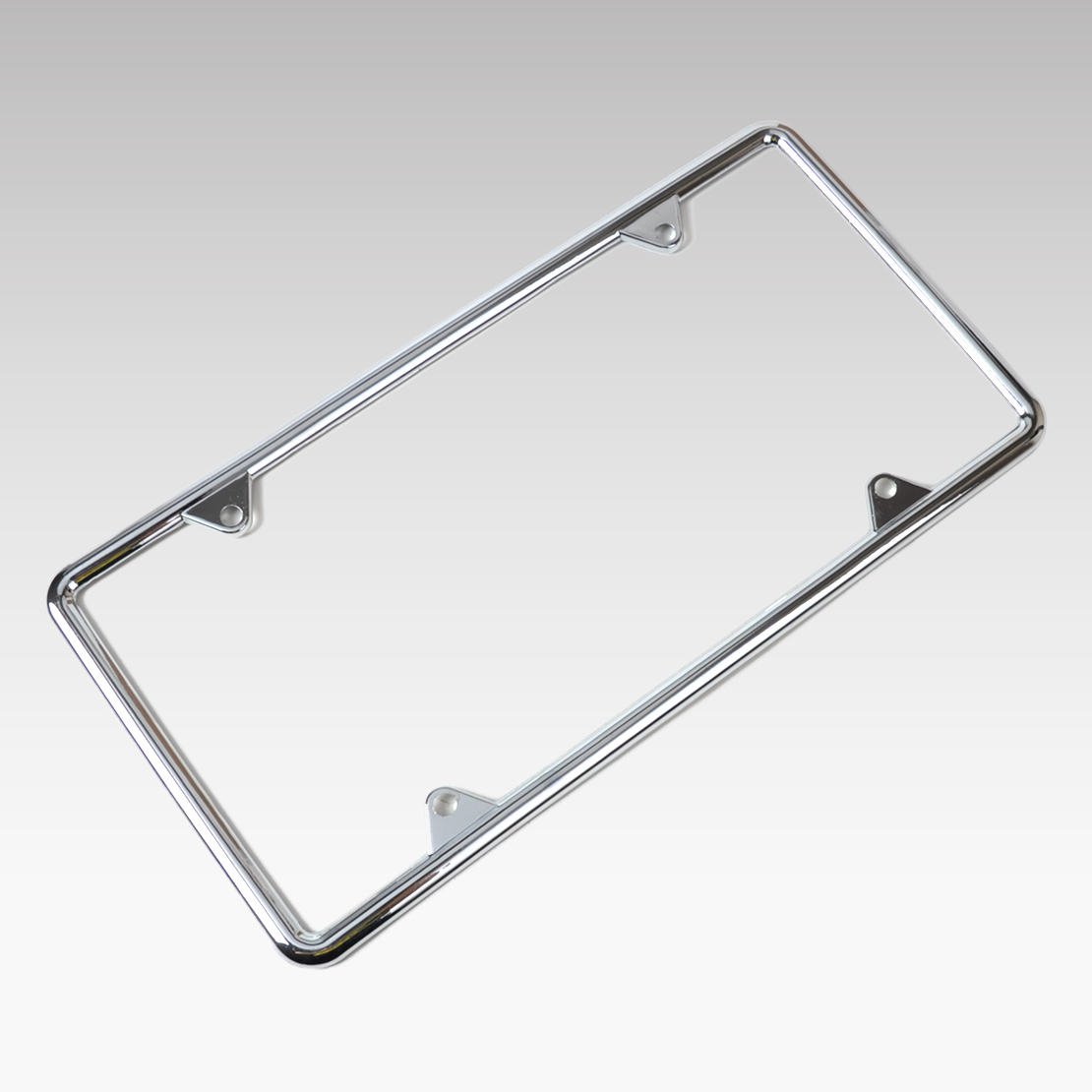 beler New 1Pc Zinc Alloy License Plate Frame Universal for Audi BMW VW Golf Toyota Corolla Nissan Qashqai Almost All Cars Trucks