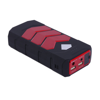 HCOOL 16800MAH Car Jump Starter Flashlight Emergency Booster Battery Power Bank Dual USB Charger Port Car Jumper Starter