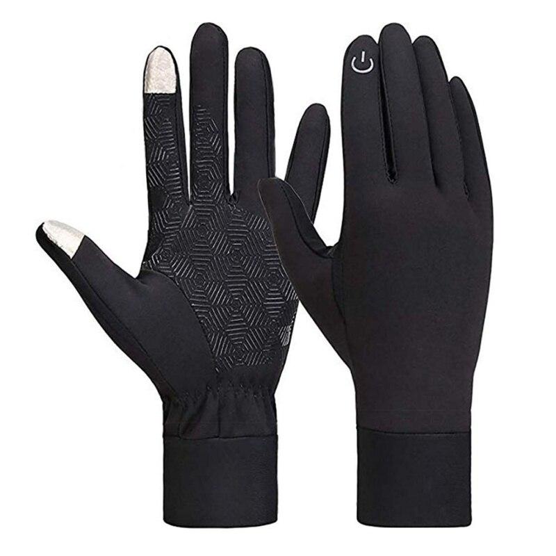 New Warm Gloves Fleece Ski Snowboard Snow Touch Screen Outdoor Sport Gloves BS