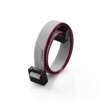 2Pcs AWM 2651 105C 300V 10 Pin Flexible Flat Ribbon Cable Gray For LCD Screen Anet 3D Printer Prusa I3