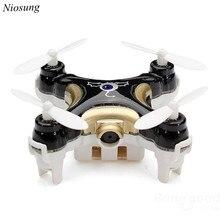 Niosung Modern Cheerson CX-10C Mini 2.4G 4CH 6 Axis LED RC Quadcopter with Camera RTF Black