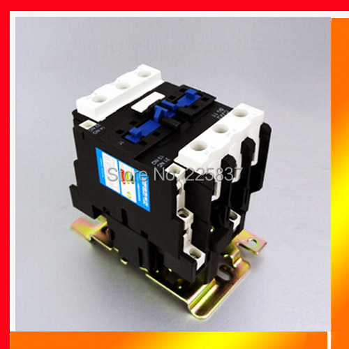 silver contact CJX2-50 LC1-D50 50A AC contactor relays contator NC+NO 24v 48v 220v 380v coil voltage free shipping good quality new lp2k series contactor lp2k06015 lp2k06015md lp2 k06015md 220v dc