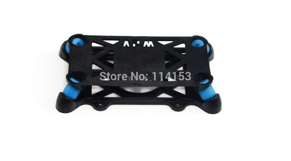 ФОТО universal damping plate for rc apm kk mwc pirate rabbit flight control aircraft