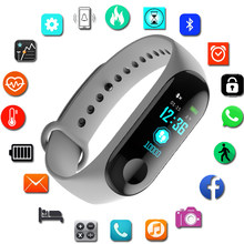 Smart Watch Kids Watches Children For Girls Boys Sport Bracelet Child Wristband Smart Band Fitness Tracker Smartwatch Waterproof(China)