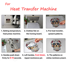 Iron On Heat Press Patches For Clothes