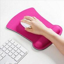NOYOKERE kalınlaşmak yumuşak sünger bilek istirahat Mouse Pad optik/Trackball Mat fare Pad bilgisayar dayanıklı rahat fare Mat