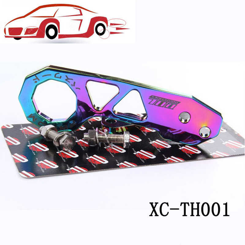 JQTUNING-Passward Fit Hook Tow JDM ניאו Chrome האחורי להונדה סיוויק Integra RSX XC-TH001 ג 'אז