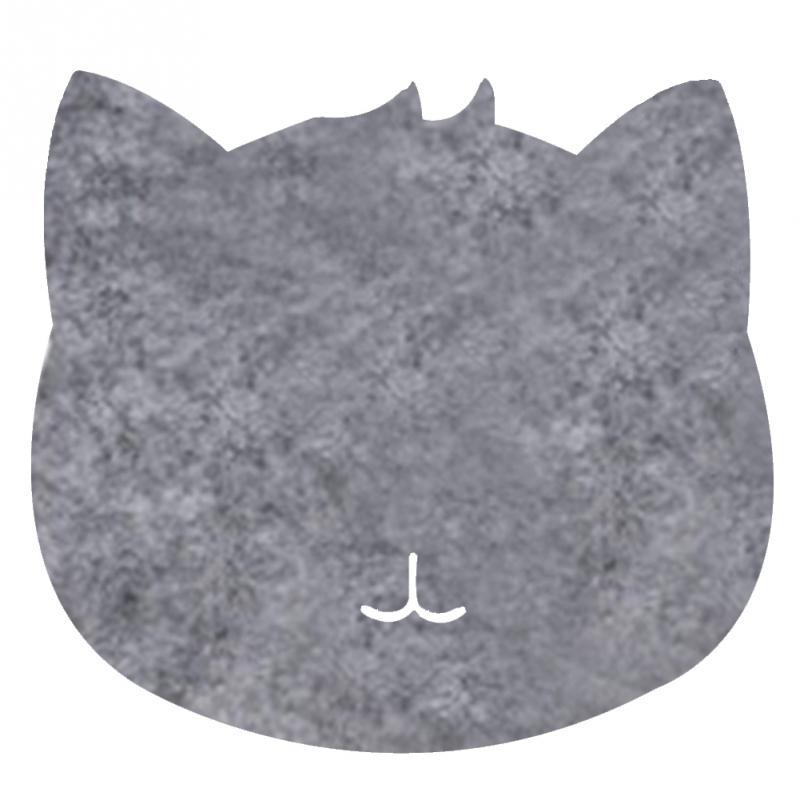 Мода Оптических Чувствовал Ткань 200*200*3 мм Универсальный Милый Кот коврик Для Мыши Мат Бесплатная Доставка Для Dota2 Diablo 3 CS Коврик Для Мыши