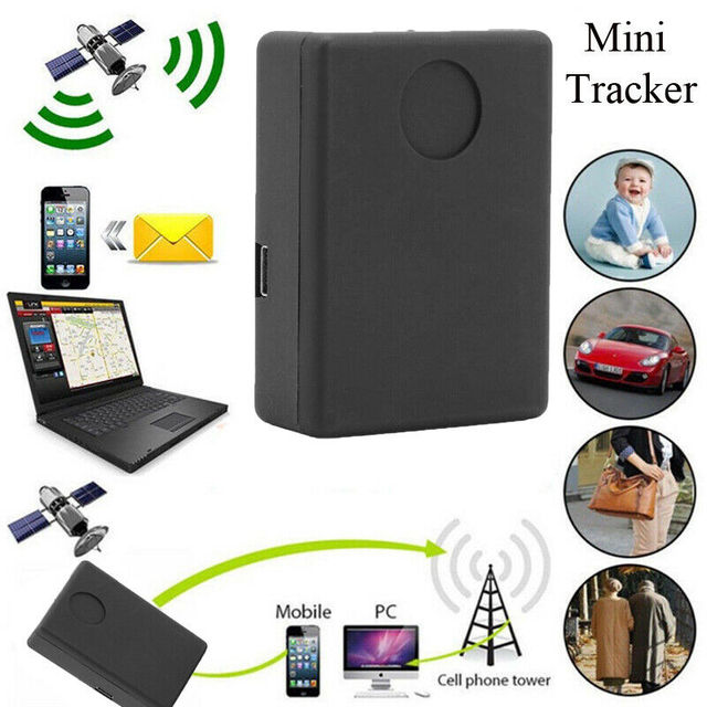2 Way Mini Bug GPS GSM SIM Tracker Audio Listening Bug Tracking Device