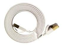 Плоский сетевой кабель 10G сетевой кабель из чистой меди 7 сетевая Перемычка 01