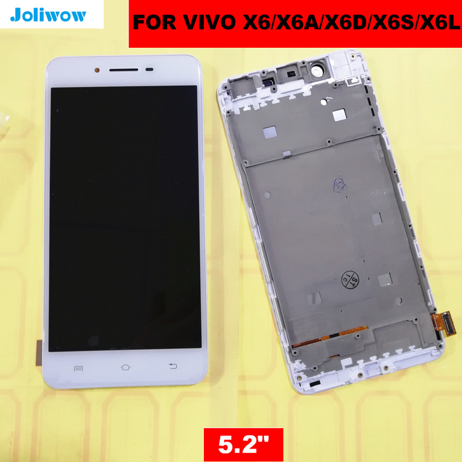 """5.2 """"用 X6 液晶 X6A X6D X6L X6S Lcd ディスプレイ + タッチスクリーン + フレーム + ツールデジタイザアセンブリ交換用  グループ上の 携帯電話 & 電気通信 からの 携帯電話用液晶ディスプレイ の中 1"""