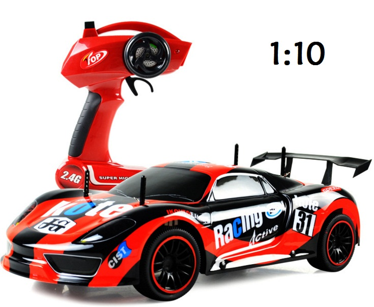 Rc racing car 2 4g drift high speed competition car 1 10 for Motor racing for kids