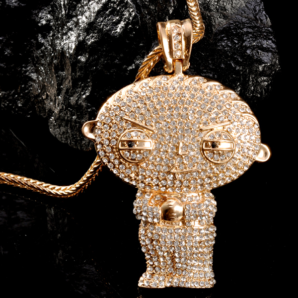 Mr chris da jeweler custom lab diamond big head stewie pendant mr chris da jeweler custom lab diamond big head stewie pendant necklace aloadofball Choice Image
