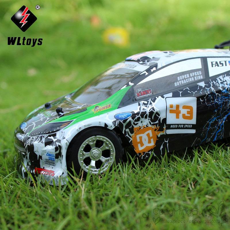2017 Hot Sales WLtoys WL A989 <font><b>1</b></font>:24 <font><b>4</b></font> Channels Top Speed 25KM/H Remote Control RC Car Super 100% Original for children Gifts