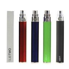 Batería de dos EGO-T para cigarrillo electrónico, 650mah, 900mah, 1100mah, capacidad para ce4 ce4 + ce5 ce5 + atomizador colorido