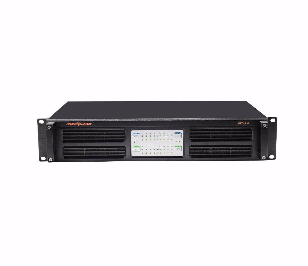 Novastar convertisseur de Fiber CVT4K-S prend en charge les entrées et sorties Ethernet Neutrik 16 canaux 4 entrées/sorties fibre optique