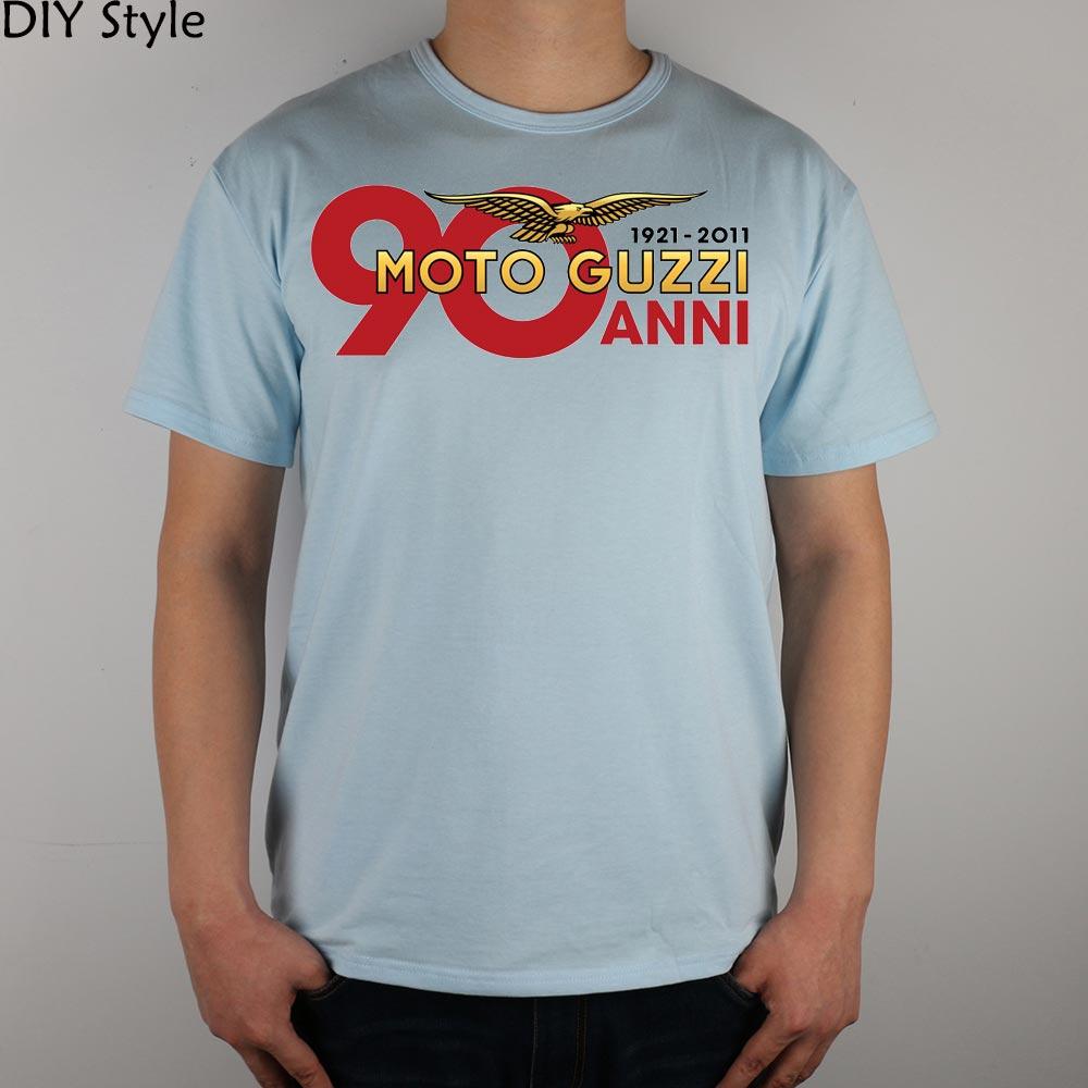 T-shirt MOTO GUZZI ANNI 1921-2011 Maglietta da uomo in cotone Lycra - Abbigliamento da uomo
