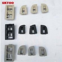 SKTOO 4 шт. для Audi A4 A6 C5 атлет рамка для переключателей декоративная рамка маска кадров (серый)