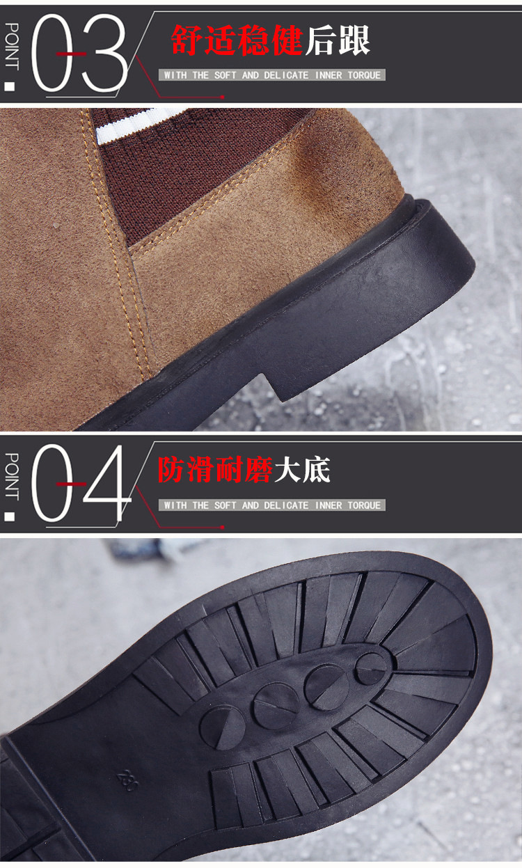The new autumn 2018 Martin boots flat short tube with restoring ancient ways round head women's boots 42