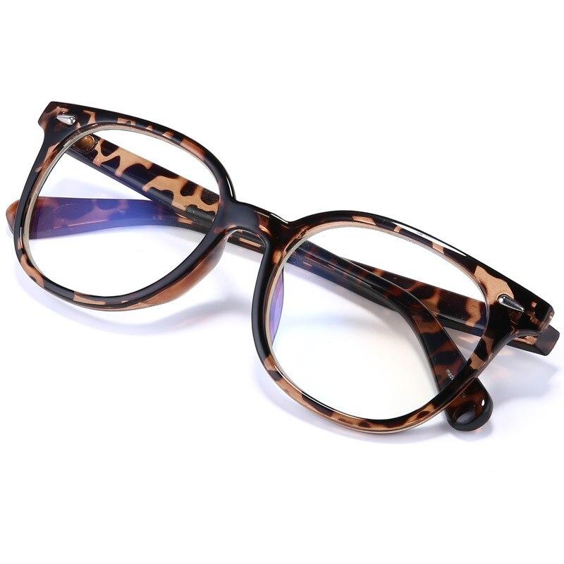 Vazrobe gafas de computadora de las mujeres de los hombres Anti-Luz Azul gafas marco transparente lente hombres grado mujer cuadrado puntos negro