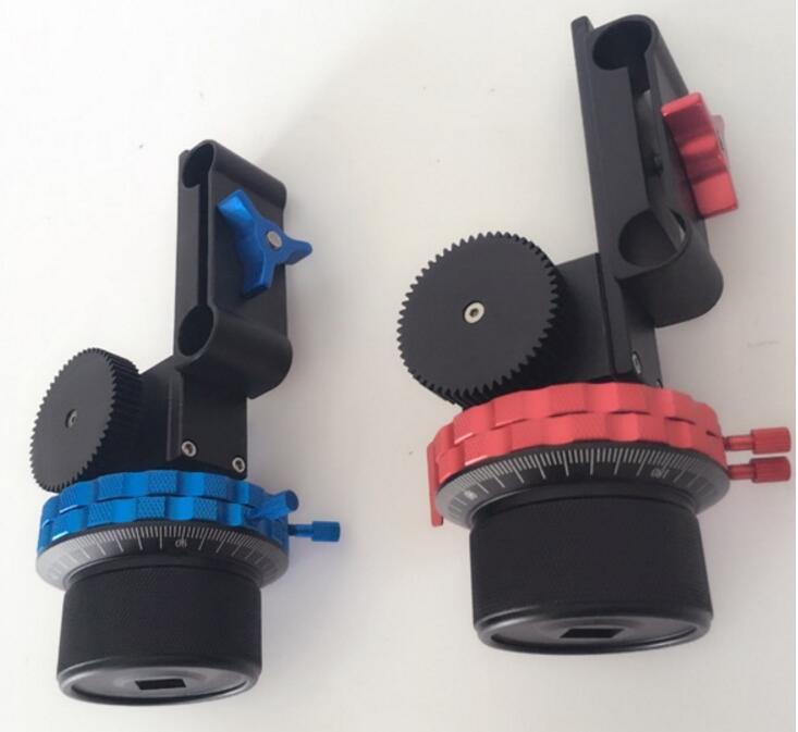POWERKAM DSLR suivre le KIT de mise au point avec anneau de ceinture de vitesse pour Canon/Nikon/Sony/autre DSLR avec limites AB