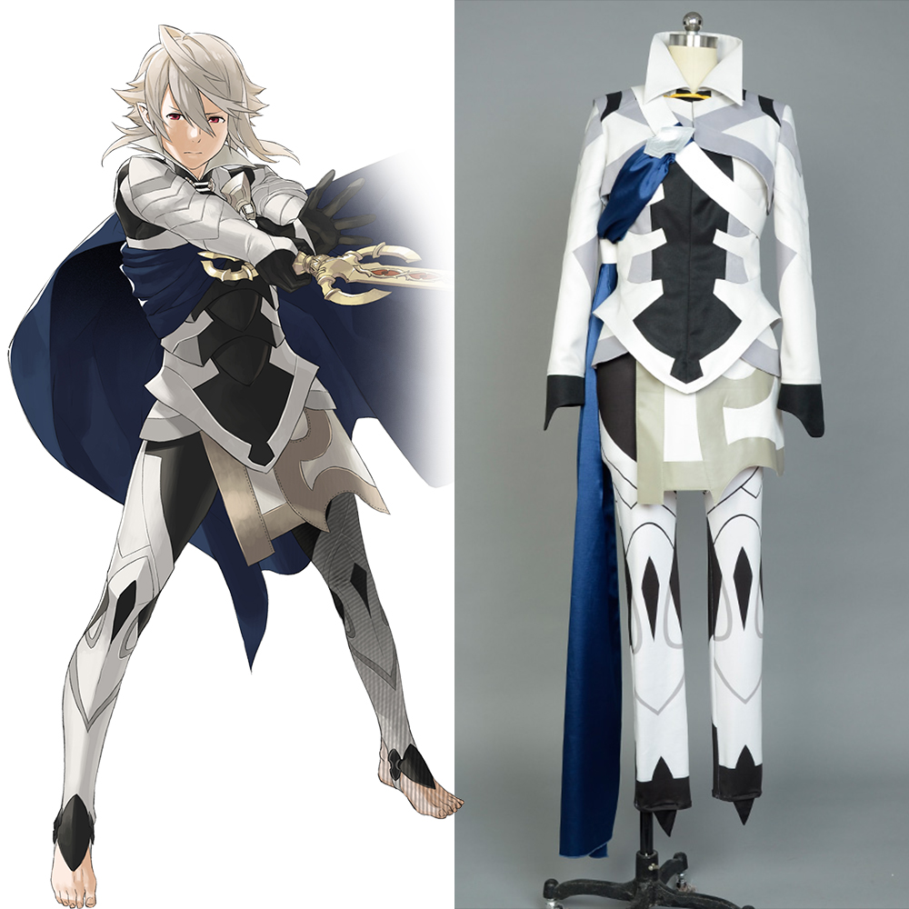 Fire Emblem If Fates Avatar Corrin Outfit Uniform Halloween Anime Cosplay Costume For Adults Men Women Full Set
