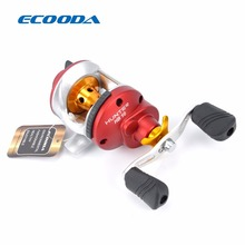 ECOODA Hunter High Speed Small Size Bait Casting Trolling Reel 2.5kg Drag Power 6.1:1 Ice Fishing Reel  HB10 Right Hand