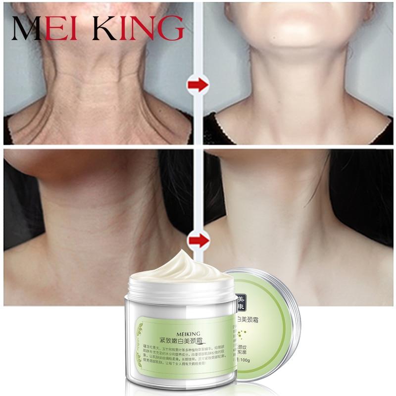 מייקין קרם צוואר טיפוח לעור אנטי קמטים הלבנת לחות בצוואר צוואר 100 גרם טיפוח העור קרם צוואר בריאות לנשים