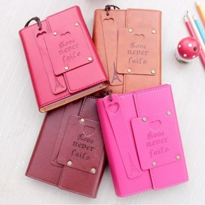 """""""Love Never Fails"""" Journal Diary Faux Leather Blank Papers Travel School Study Notebook Stationery Gift"""