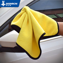 Super Absorbent Car Wash Microfiber Towel Car Cleaning Drying Cloth Large Hemming Car Care Cloth Detailing Towel 30*60 недорого