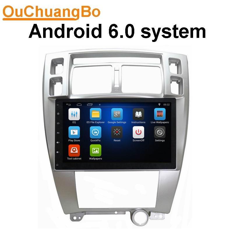 Ouchuangbo GPS Navigation Autoradio Stereo Audio Player For Hyundai Tucson 2006 2013 Support 3G WIFI USB