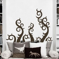 Housewares Octopus Tentacles Vinyl Decal Swirls Squid Wall Mural Bathroom Sticker The Kraken Bedroom Decor 73cm