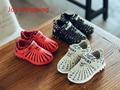 2017 Весной Новый детские Спортивные Девушки Stripes Running Shoes boy Shoes Дышащая сетка Shoes