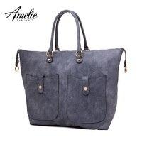 AMELIE GALANTI несколькими карманами Для женщин Сумочка многофункциональный Повседневное сумки из мягкой искусственной кожи сумки на плечо Crossbody
