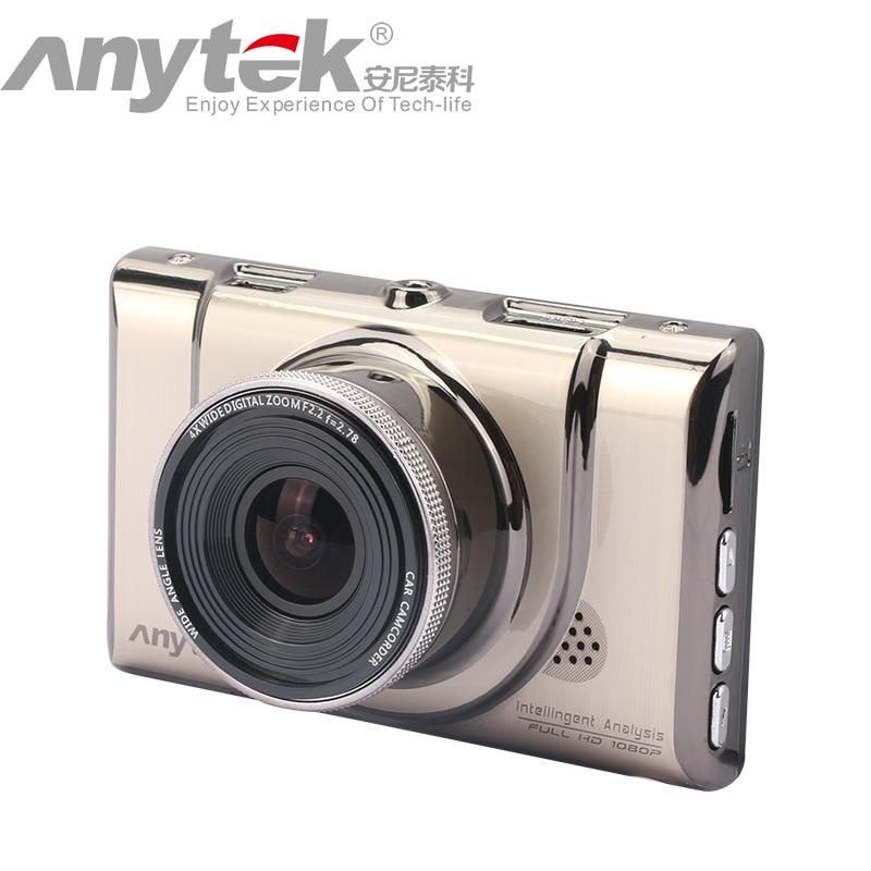 Original Anytek Car DVR A100+ Novatek 96650 Car Camera AR0330 1080P WDR Parking Monitor Night Vision Black Box
