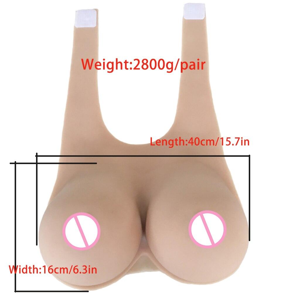 Реалистичная силиконовая форма для груди IVITA 2800 г, искусственные груди, искусственная грудь, подходящая для фрикционного фрикциона, искусст...